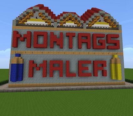 Montagsmaler Malen Jetzt Auch Auf Corp Minecraft Corp Hp
